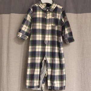 Baby Gap 12-18 month jersey-lined romper